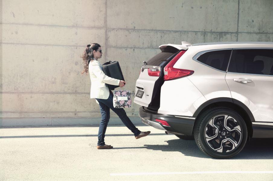 Como viajar com crianças num Honda
