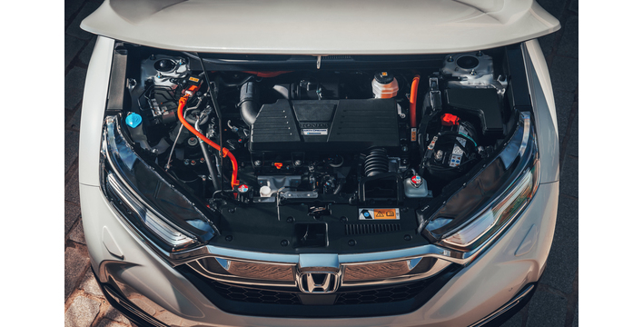 Motor híbrido do Honda CR-V