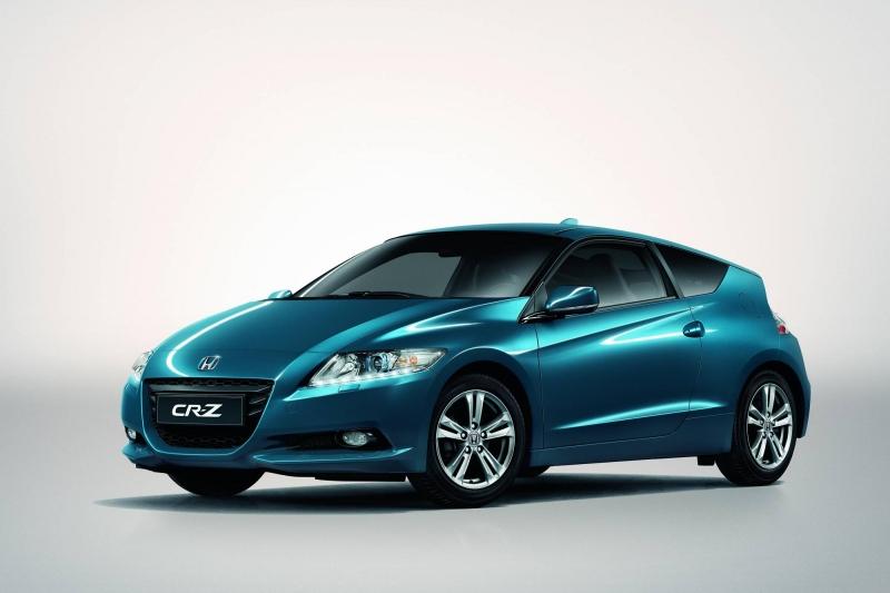 carro honda cr-z azul