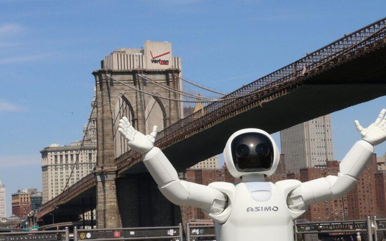 ASIMO em nova iorque