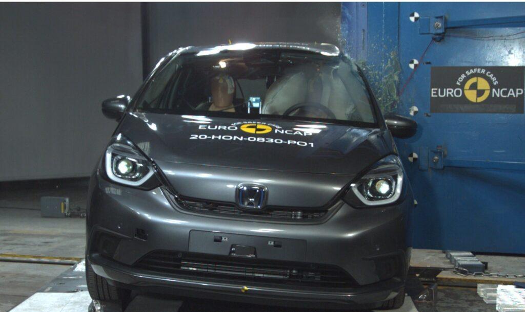 aprovação nos standard Euro NCAP