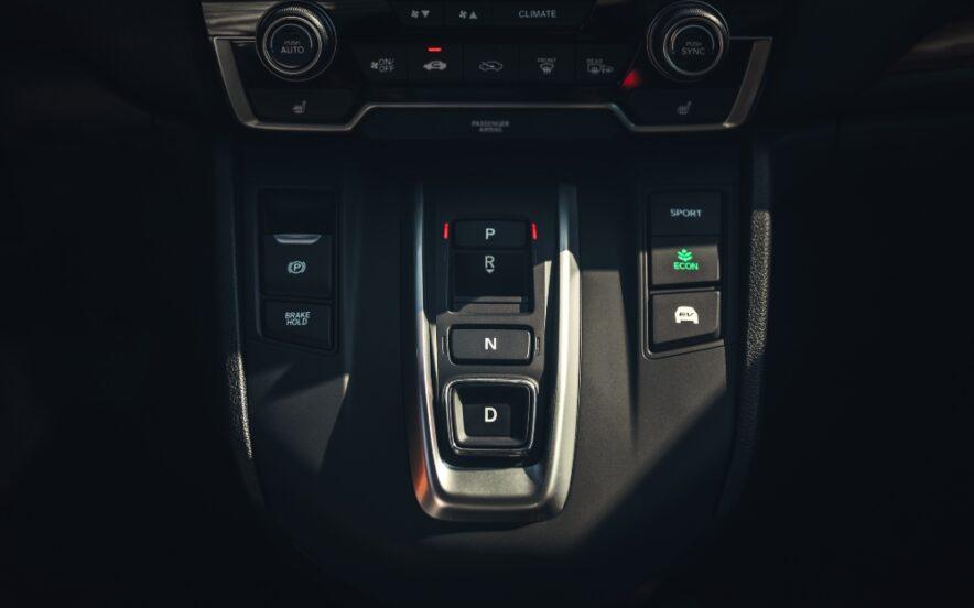 Caixa de mudanças automática do CR-V Hybrid