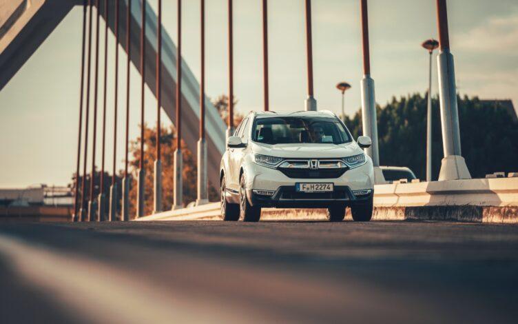 Honda CR-V na estrada