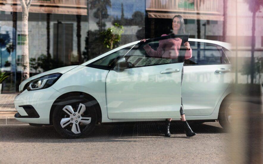 Honda Jazz Hybrid branco