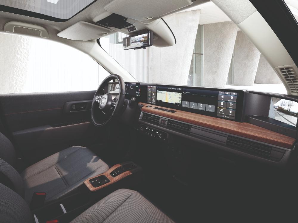 Interior Honda e