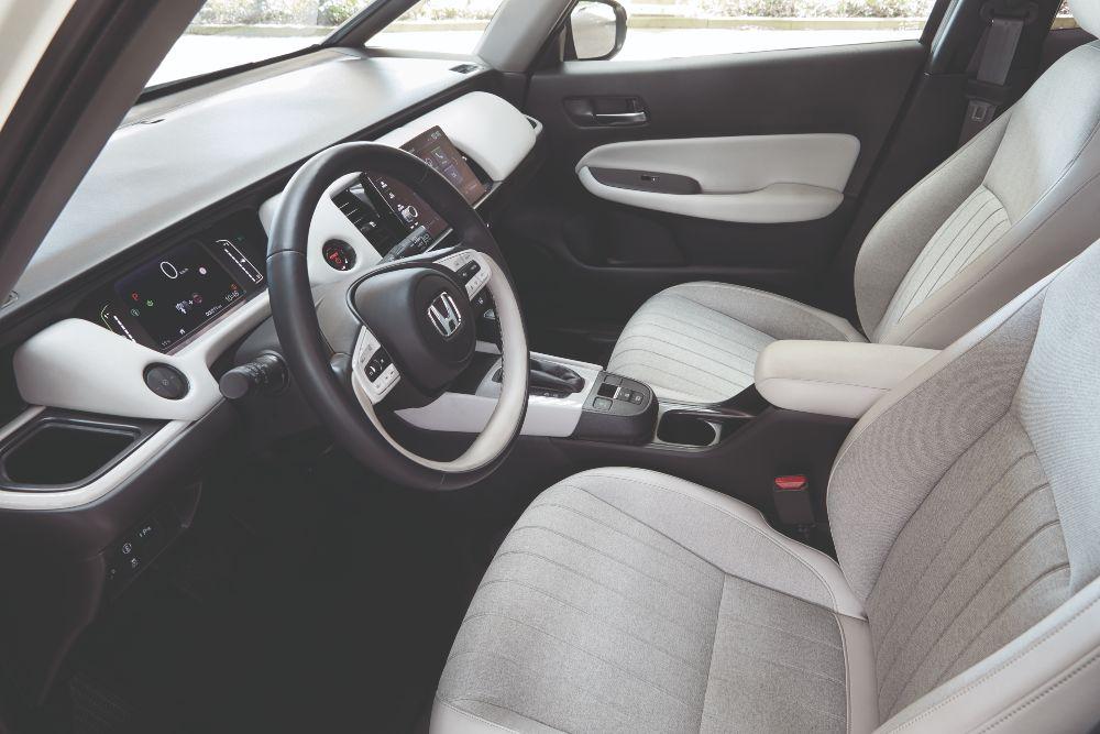 Interior do Honda Jazz