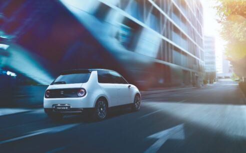 Honda e carro elétrico
