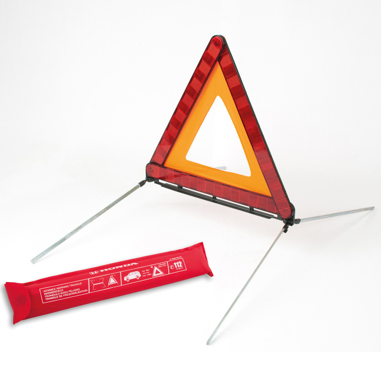 Triângulo de sinalização de perigo