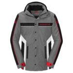 casaco cinza honda racing 2