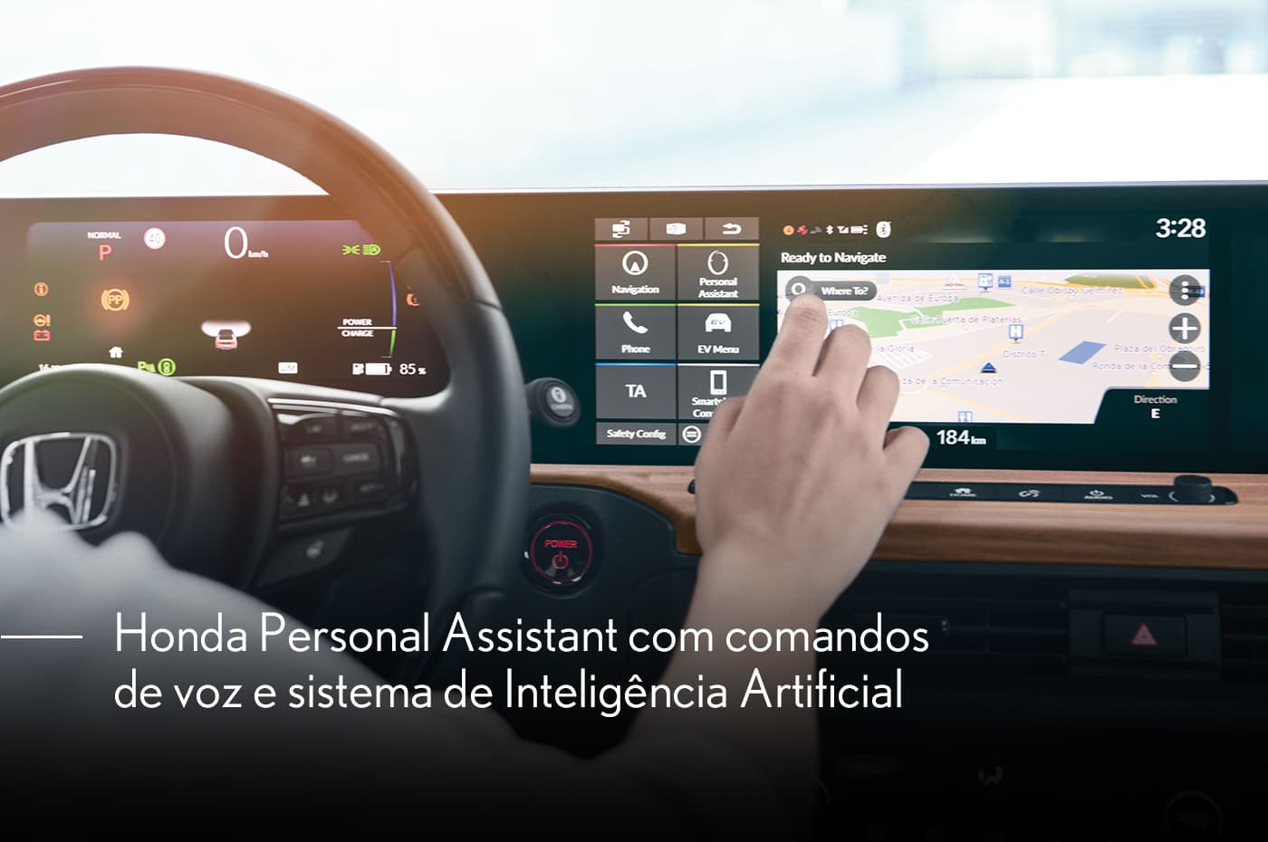 Sistema interativo Honda Personal Assistant